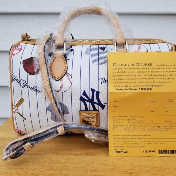 df2842858c9ab Dooney   Bourke Classic Satchel Yankees Satchel